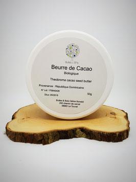 Beurre de Cacao Brut et Bio