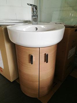 Ideal Standard Gäste-WC Waschtisch-Anlage 45 mm