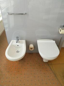 Sanibel Wand Tiefspül- WC und Wand- Bidet