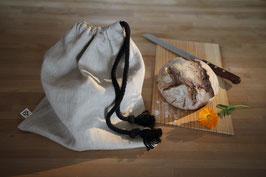 Hanfsack für die Brotaufbewahrung