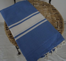 FOUTA BLEU MEDIUM