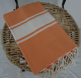 FOUTA CORAIL ORANGE