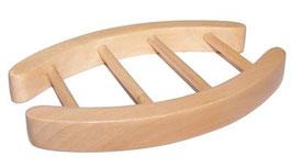 PORTE SAVON en bois de HEMU oval