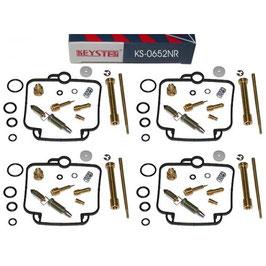 Kit de reparación Keyster para los cuatro carburadores de de la Suzuki GSXR 750 GR77B, 1988-1989