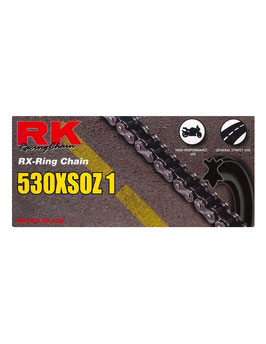CADENA RK 530 XSOZ1 122P COLOR NEGRA