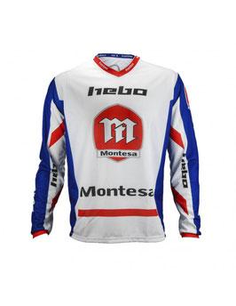 CAMISETA/T-SHIRT MONTESA CLASSIC III AZUL
