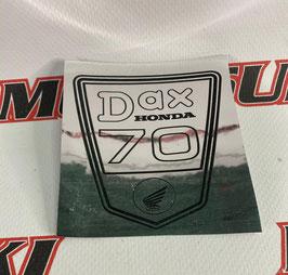 ADHESIVOS CENTRAL  HONDA DAX 70  dax plata