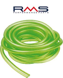 Tubo gasolina silicona verde 7x12