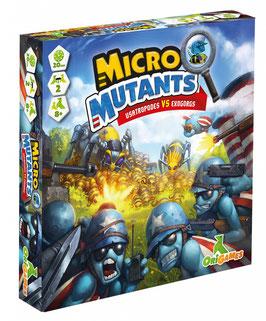 Micro Mutants Usatropodes vs Exogorgs