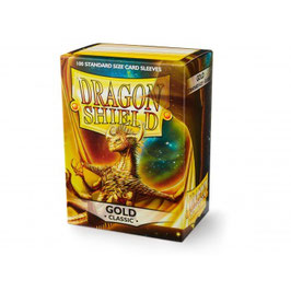 Pochettes Dragon Shield Gold