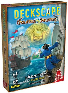 Deckscape : Pirates vs Pirates L'île au trésor