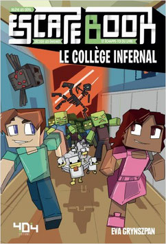 Escape Book Junior : le collège infernal