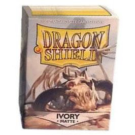 Pochettes Dragon Shield Ivory Matte