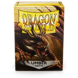 Pochettes Dragon Shield Umber Matte