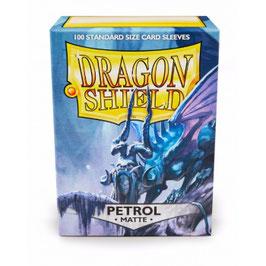 Pochettes Dragon Shield Petrol Matte