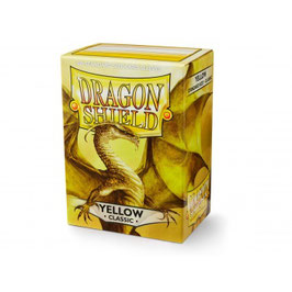 Pochettes Dragon Shield Yellow