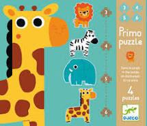 Primo Puzzle Dans la jungle