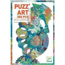 Puzzle Art Sea Horse