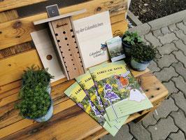 Wildbienen Kiste für Kindergärten und Grundschulen