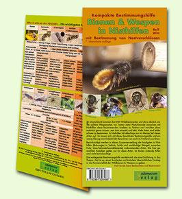 Bestimmungshilfe Wildbienen & Wespen in Nisthilfen