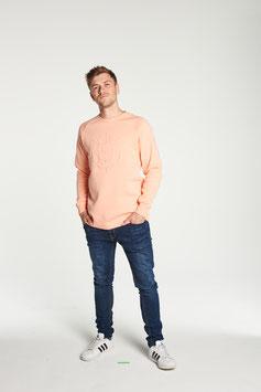 Sweater - Drunken Understatement Peach