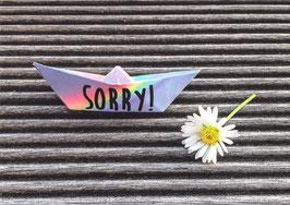 """""""Sorry!"""""""