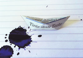 """Tinte statt Taste"""