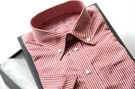 """Hemd """"modernArt"""" in rot kariert"""