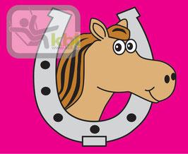 """Fahne mit Hisssystem """"Pferd"""" für Spielturm"""