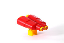 Kinder Fernglas rot/gelb für Spielturm:
