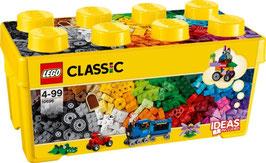 LEGO CLASSIC Mittelgroße Bausteine-Box, 484 Teile