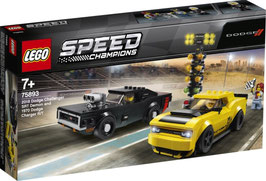 LEGO SPEED CHAMPIONS 2018 Dodge Challenger & Charger