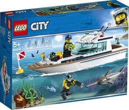 LEGO CITY Tauchyacht