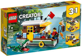 LEGO CREATOR Hausboot am Fluss