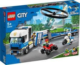 LEGO CITY Polizeihubschrauber-Transport