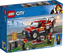 LEGO CITY  Feuerwehr-Einsatzleitung