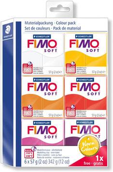 FIMO Soft Modellier-Set Warm Colours