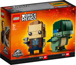 LEGO Bricke Headz Owen und Blue