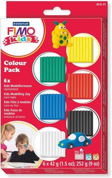FIMO Kids Modellier-Set Grundfarben