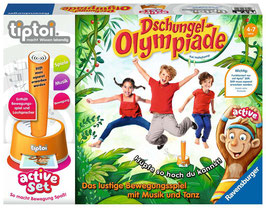 RV tiptoi® active-Set: Dschungel-Olympiade SPIEL