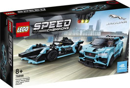 LEGO SPEED CHAMPIONS Formula E Panasonic Jaguar Racing car & I-PACE