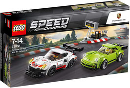 LEGO SPEED CHAMPIONS Porsche 911 RSR und 911 Turbo 3.1