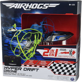 Airhogs 2in1 Hyperdrift Drone & Hovercraft