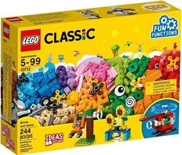LEGO CLASSIC Bausteine-Set Zahnräder, 244 Teile