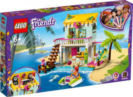 LEGO FRIENDS Strandhaus mit Tretboot