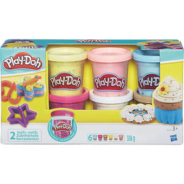 Play-Doh Konfettiknete 6er Set