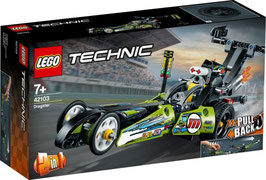 LEGO TECHNIC Dragster Rennauto