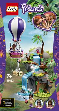 LEGO FRIENDS Tiger-Rettung mit Heißluftballon