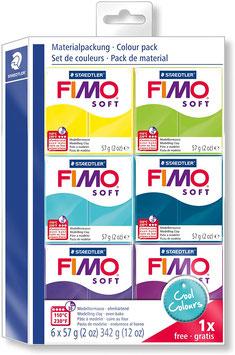 FIMO Soft Modellier-Set Cool Colours