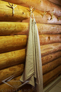 Sauna & Badehandtuch extra lang
